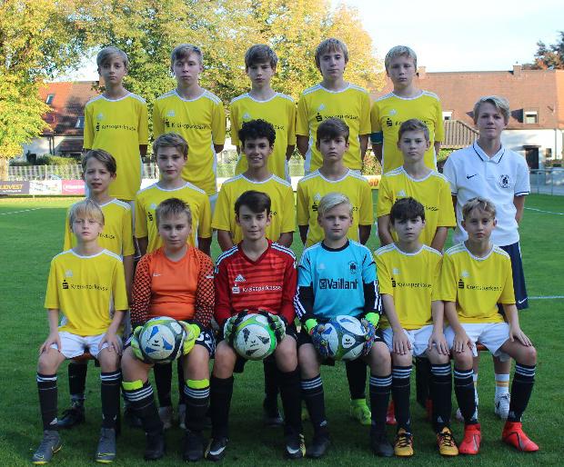 Mannschaft der C3-Junioren